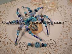 Treasures-byTiziana-Christmas-Legend-Shy-Shell-Octopus-Seahorse-Beaded-Spider