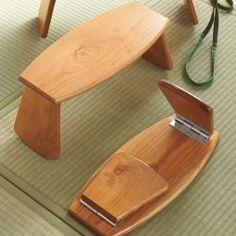 Check out these meditation benches! #MeditationGifts #MeditationCushion #meditationmat #afflink