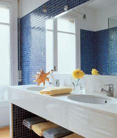 Once lavabos con estilo
