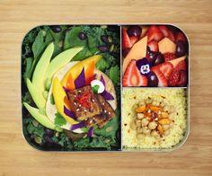 Tempeh Avocado Lunchbox