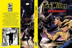 Capa exclusiva da edição holandesa do Tex Gigante desenhado por Fabio Civitelli à venda no Festival de Breda