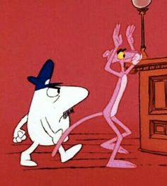 Pink Panther in trouble