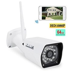 Special Offers - IdeaNext HD 64GB 1080P H.264 Wireless WiFi IP Camera Indoor/Outdoor Home Security Surveillance with P2P Infrared Night Vision Motion Detector IP66-Waterproof - In stock & Free Shipping. You can save more money! Check It (September 22 2016 at 04:30AM) >> http://smokealarmusa.net/ideanext-hd-64gb-1080p-h-264-wireless-wifi-ip-camera-indooroutdoor-home-security-surveillance-with-p2p-infrared-night-vision-motion-detector-ip66-waterproof/