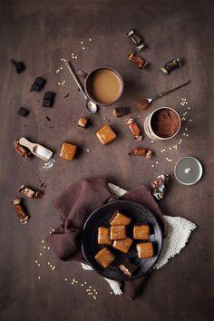 Du chocolat, du caramel, de la fleur de sel, que demander de plus ? C'est tout doux, tout tendre et la fleur de sel réveille tout ce sucre. C'est tellement