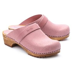 Heeled Rain Boots, Clog Boots, Moccasin Boots, Clogs Shoes, Shoes Heels, Flat Shoes, Wooden Sandals, Wooden Clogs, Fashion Shoes