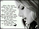 I Miss You Every Day Every Hour