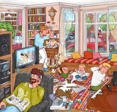 Just a backup of the illustrations I've being doing for textbooks through the years. The good ones and the fool ones. A spoonfull of my day job. Thanks for keeping an eye. Emotions Preschool, Preschool Education, Picture Composition, Drawing School, Art Drawings Beautiful, Art And Craft Design, Building Art, Picture Story, Blended Learning