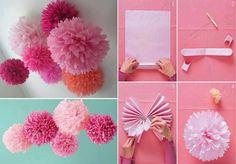 Silk Paper Flower