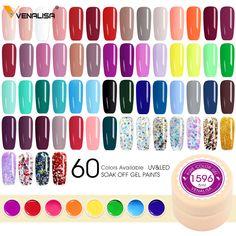 Gel Nail Polish Colors, Nail Polishes, Uv Gel Nails, Manicure, Soak Off Gel, Nail Art Hacks, Uv Led, Beauty Essentials, Smell Good
