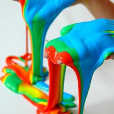 Slime Recipe for DIY rainbow slime: how to make multicolored homemade slime