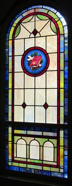 Stained Glass Windows at West End Baptist Church in Tullahoma, TN