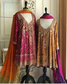 Bridal wear made on order Pakistani Mehndi Dress, Pakistani Fashion Party Wear, Pakistani Formal Dresses, Pakistani Wedding Outfits, Indian Bridal Wear, Pakistani Wedding Dresses, Pakistani Dress Design, Indian Dresses, Mehendi Outfits