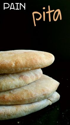Pain Pita (pain libanais) et deuxieme recette…