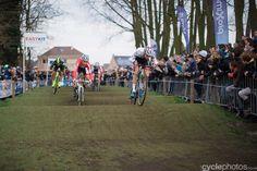 Sven & Mathieu practising their BMX skills | 2015 bpost bank trofee 6 – Azencross by Balint Hamvas, cyclephotos.co.uk
