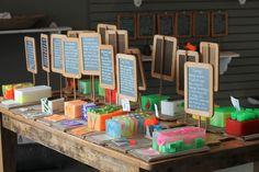 handmade soap displays - Google Search