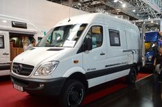 The HRZ Freedom is based on a Mercedes Sprinter van