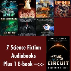 Science Fiction Audiobook Giveaway