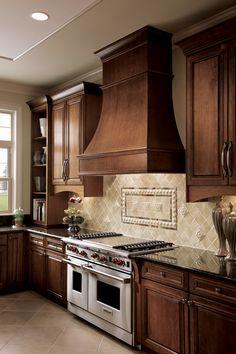 wall mounted hood, kitchen design, cooking range