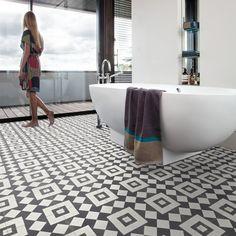 Våtrumsmatta Gerflor Gerbad Lisboa Dark hos Golvshop.se Bathroom Flooring, Bath Mat, Bathtub, House Design, Home Decor, Google, Cordoba, Standing Bath, Bathtubs