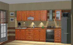 Classic - 260 cm-es blokk konyha. Ezzel az örök klasszikus konyhatípussal sose tévedhetsz! Romantikus vonalvezetés, kellemes körtebarna szín harmóniát fog sugározni az otthonodban. http://www.knapp.hu/