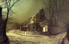 John Atkinson Grimshaw (1836 - 1893). Scarborough Art Galleryartfund.org
