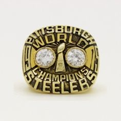 2008 Super Bowl XLIII Pittsburgh Steelers Championship Ring ...