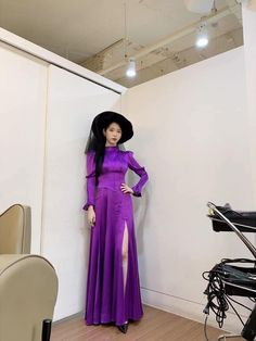 Image may contain: one or more people, people standing and indoor Korean Girl, Asian Girl, Iu Hair, Luna Fashion, Nice Dresses, Formal Dresses, Pretty Asian, Kpop Girls, Korean Fashion