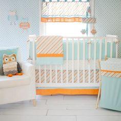 My Baby Sam Penny Lane 4-Piece Crib Bumper - buybuyBaby.com