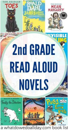 Read aloud chapter books for 2nd grade, but also 1st grade and 3rd graders and up.