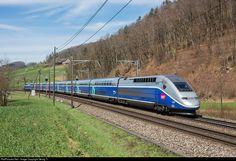 RailPictures.Net Photo: 4730 SNCF TGV 2N2 at Tecknau, Switzerland by Georg Trüb