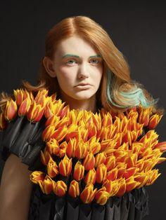 Tulipa dress. By Edelkoort Editions - Lidewij Edelkoort