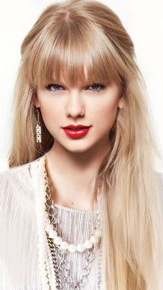 Taylor Swift With Bangs Hair Style Long Blonde Human Hair Wigs Long Live Taylor Swift, Taylor Swift Hot, Taylor Swift Pictures, Taylor Swift Bangs, Taylor Swift Hairstyles, Red Taylor, Taylor Swift Wallpaper, Hairstyles With Bangs, Shawn Mendes