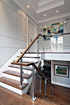 Glass Staircase Design, Pictures, Remodel, Decor and Ideas - page 18