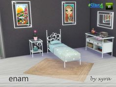 Sims 4 CC's - The Best: Bedroom Set by xyra33