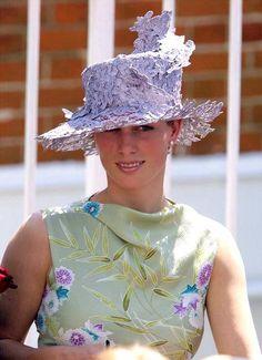 Zara Phillips. Great hair