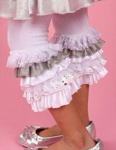 frilly leggings