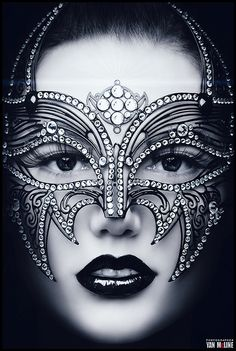 We all have our Masks … some are just more elaborate than others!  Source: veuvenoir