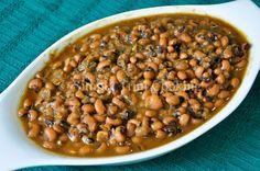 Stewed Black-Eyed Peas | Simply Trini Cooking    #trinicooking