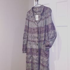 Brand new long jacket Never worn. Feel free to make an offer Free People Jackets & Coats