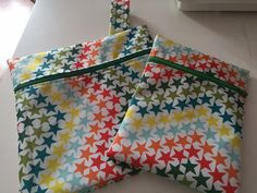 Wet bags from £5 for cloth sanitary pads (CSP) from pinkchez.com