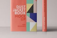 This is the front and spine version of our hardcover dust jacket psd book mockup template. You cab add your own...