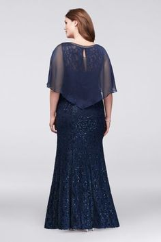 Women S Plus Size Duster Dresses Mother Of The Bride Jackets, Mother Of The Bride Gown, Plus Size Gowns Formal, Plus Size Maxi Dresses, Peplum Dresses, Dress With Shawl, Maxi Dress With Sleeves, Special Dresses, Mothers Dresses