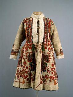 Woman's coat, Central Europe (Romania, Hungary), c. 1900.