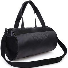 18e22e45878e7 65% OFF-AUXTER BLACKY Gym Bag Duffel Bag Emboss Logo ( Black ):
