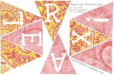Relax bunting printable
