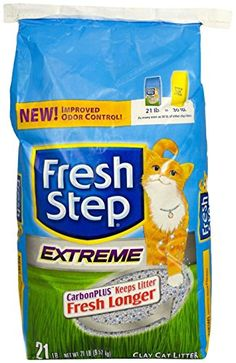 Fresh Step Cat Litter Extreme 21Pound Package *** Want additional info? Click on the image.