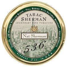 Tinned Pipe Tobaccos: Nat Sherman Tabac Sherman Blend # 536 2oz at Smokingpipes.com