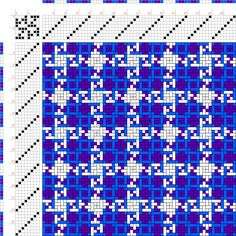 draft image: Figurierte Muster Pl. XXII Nr. 13 (b), Die färbige Gewebemusterung, Franz Donat, 8S, 8T