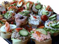 open danish food platter £23