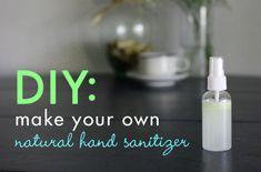 HOW TO: Make Homemade Natural Hand Sanitizer   Inhabitots